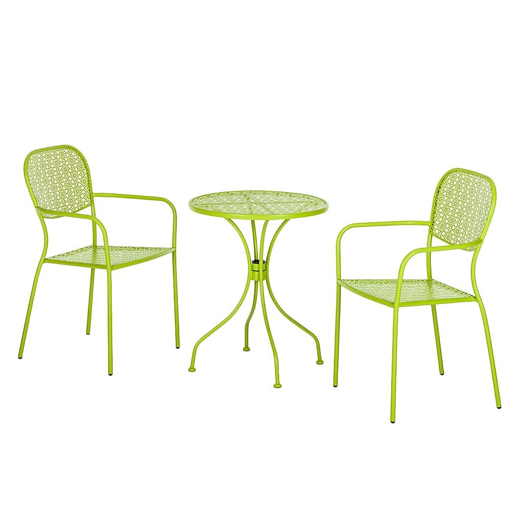 Balkonset Fleury (3-teilig) – Metall Pastellgrün, Garden Guerilla online kaufen
