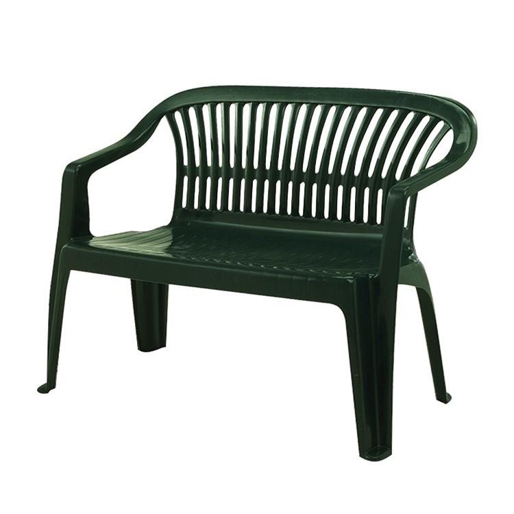 Bank Belleair (2-Sitzer) - Kunststoff - Dunkelgrün, Progarden