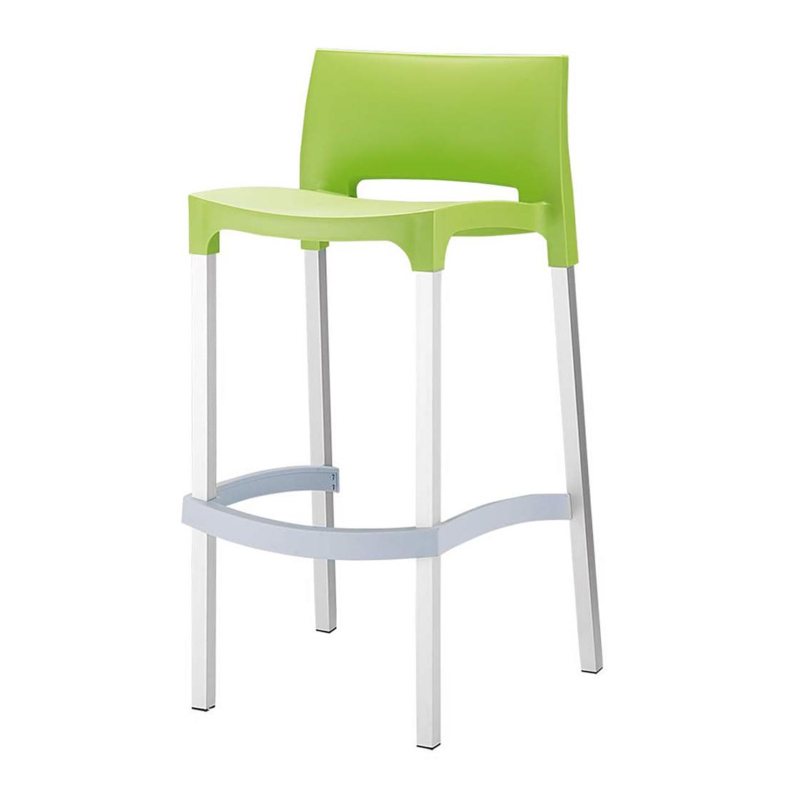 Barhocker GIO – Grün – Kunststoff, CLP kaufen
