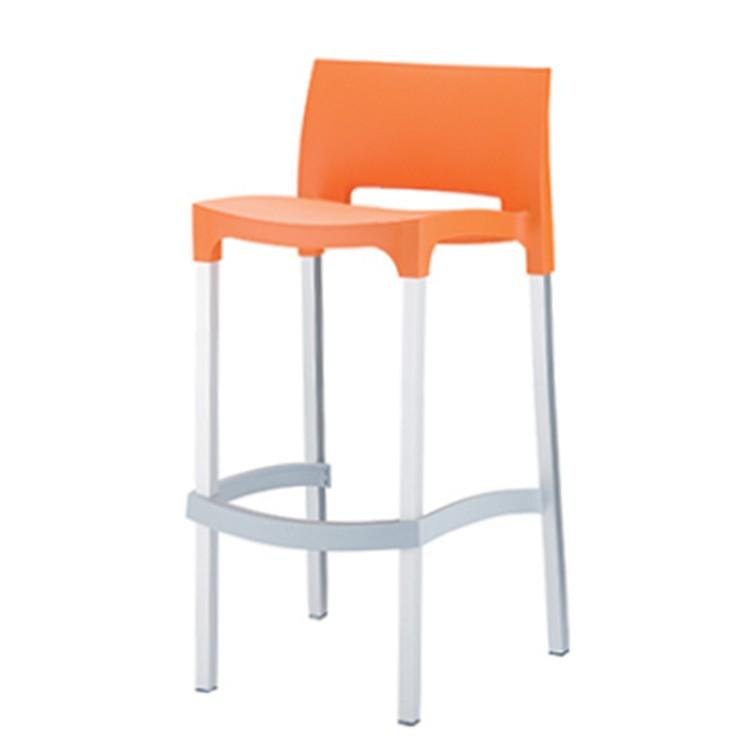 Barhocker Gio (2er-Set) – Orange, LIVIT jetzt bestellen