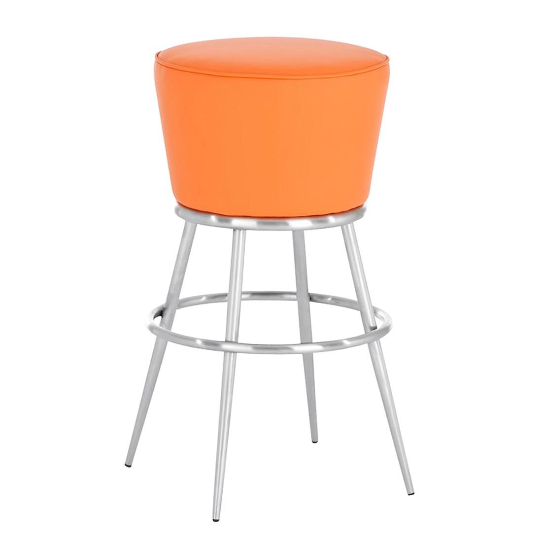 Barhocker Laos E85 – Orange -Edelstahl/Kunstleder, CLP günstig kaufen