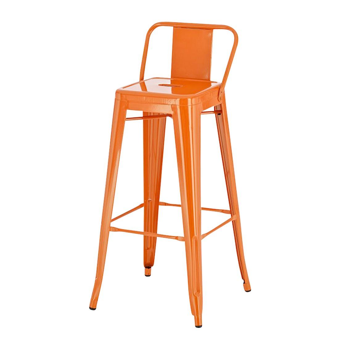 Barhocker Mason – Orange – Metall Lackiert, furnlab günstig kaufen