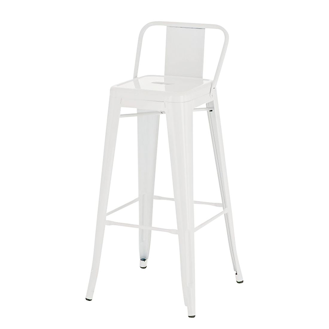 Barhocker Mason – Weiß – Metall Lackiert, furnlab günstig bestellen
