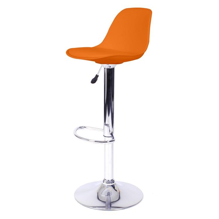 Barhocker Tulip (2er-Set) – Orange, LIVIT günstig online kaufen