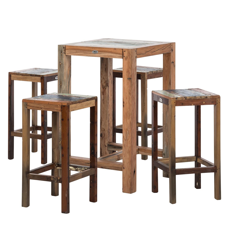 barset seaside i 5 teilig teakholz massiv plo g nstig online kaufen. Black Bedroom Furniture Sets. Home Design Ideas