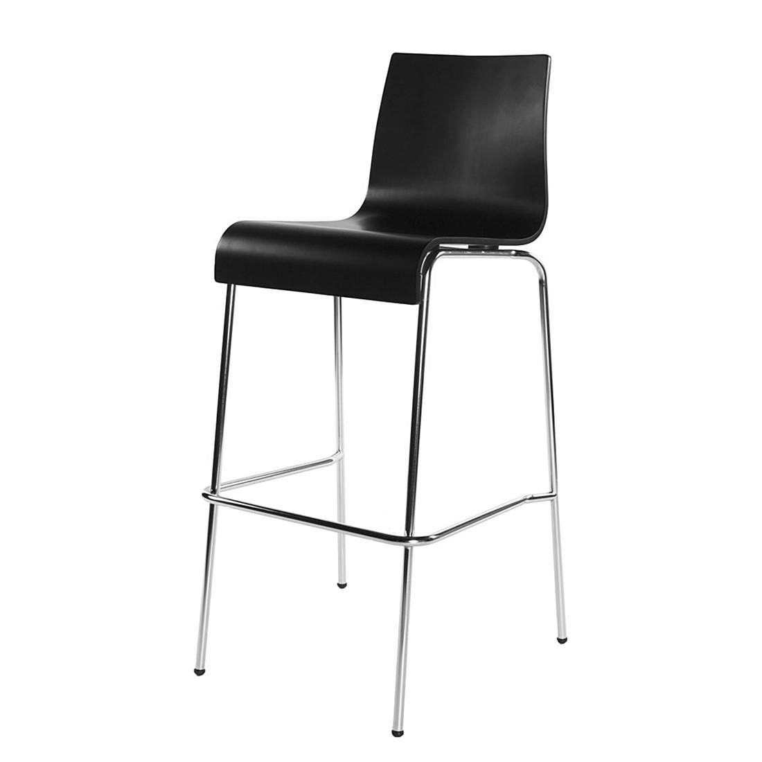 chaise de bar cobe noir kokoon le fait main. Black Bedroom Furniture Sets. Home Design Ideas