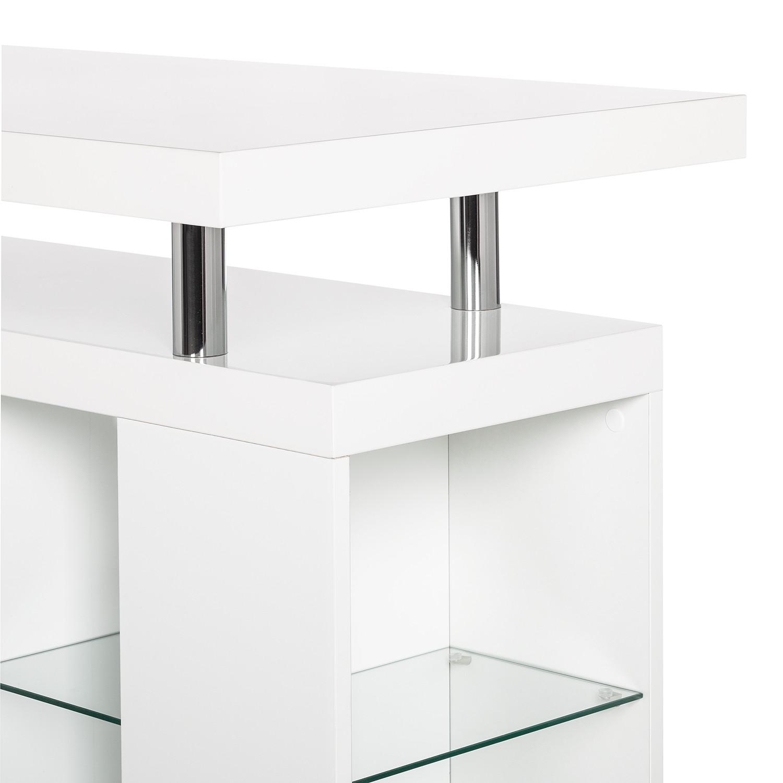 bartisch daytona hochglanz wei stehtisch bistrotisch tisch thresen ebay. Black Bedroom Furniture Sets. Home Design Ideas