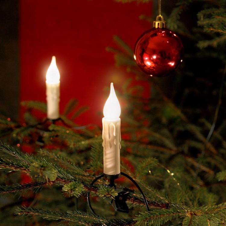 Baumkette ● Kunststoff/Kupfer ● Leuchtfarbe: Klar- Konstsmide