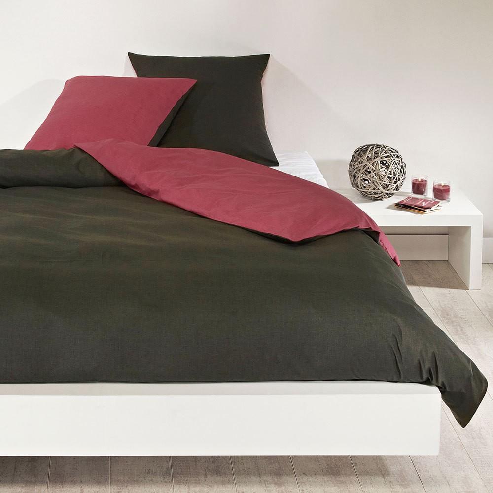 baumwoll bettw sche chocolate coral baumwolle braun kissenbezug einzeln 80x80 cm. Black Bedroom Furniture Sets. Home Design Ideas