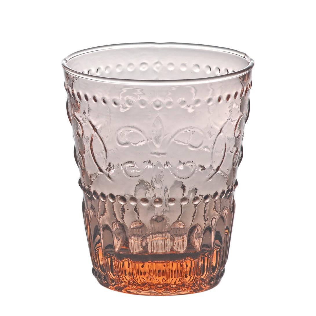 Trinkglas Firenze (6er-Set) – Glas – Pink, BITOSSI HOME online kaufen