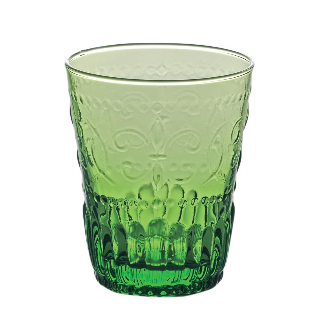 Trinkglas Firenze (6er-Set) – Glas – Dunkelgrün, BITOSSI HOME günstig kaufen