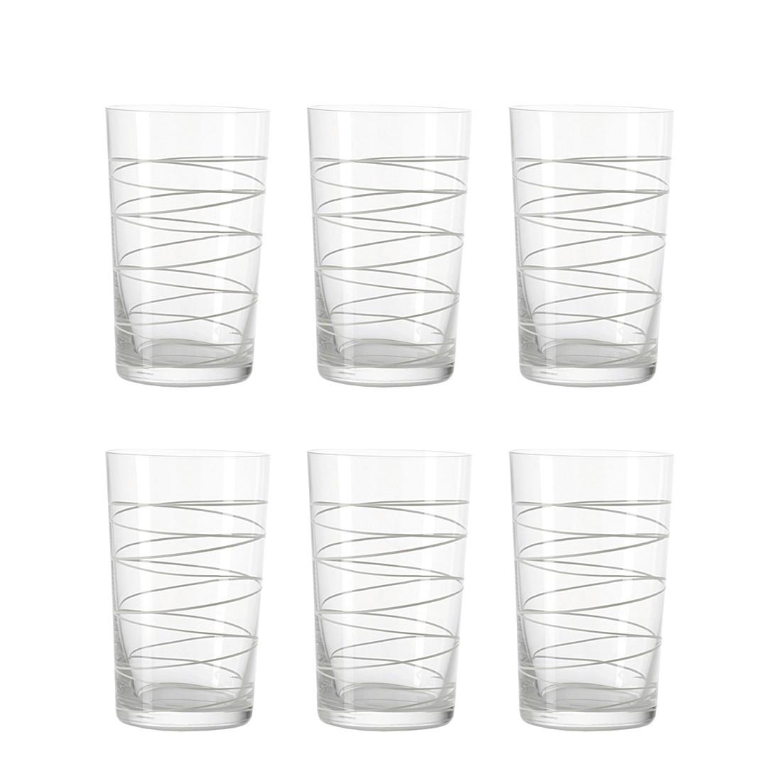 Becher Spirale (6er-Set) – Groß -Weiß, Leonardo günstig bestellen