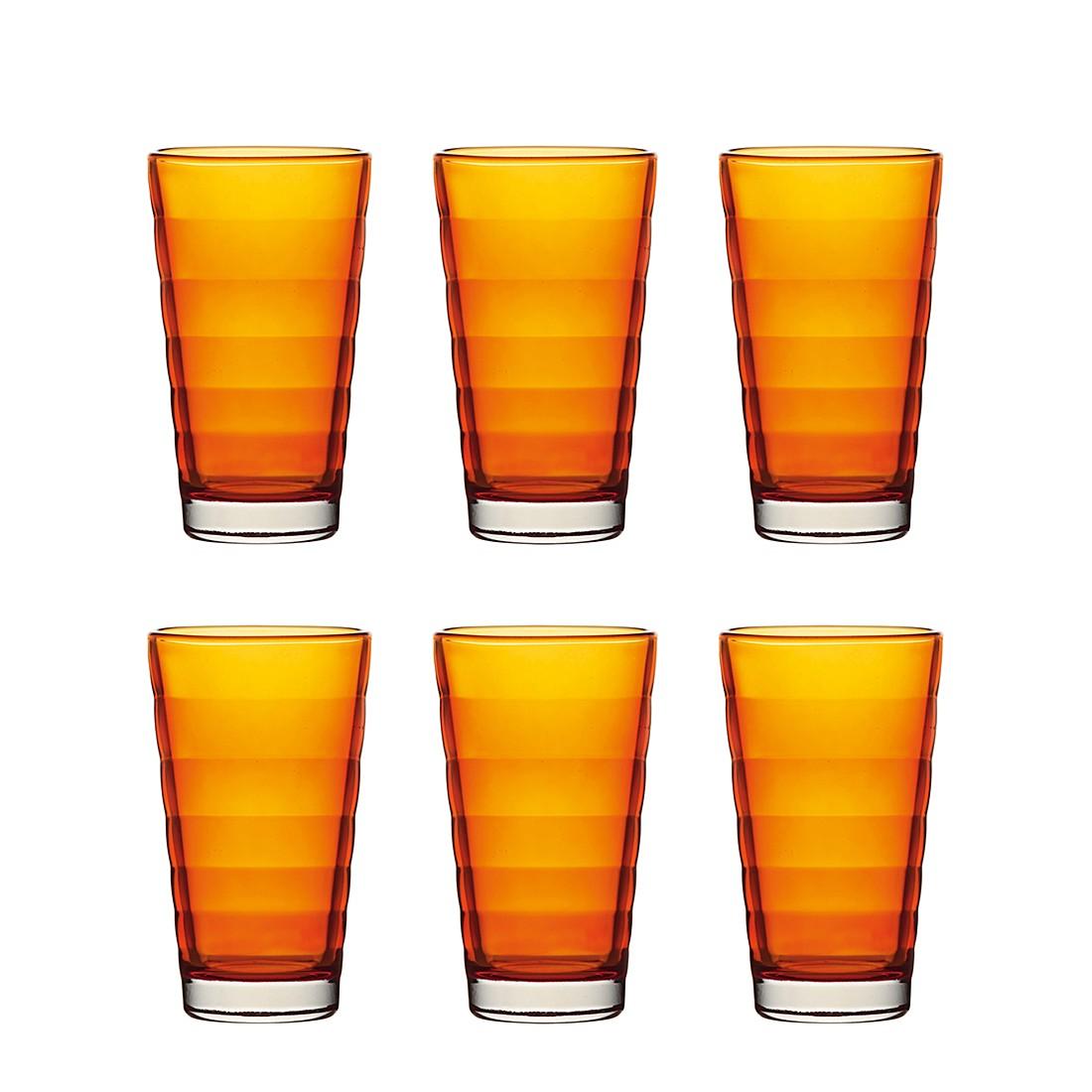 Becher Wave (6er-Set) – Groß – Orange, Leonardo bestellen