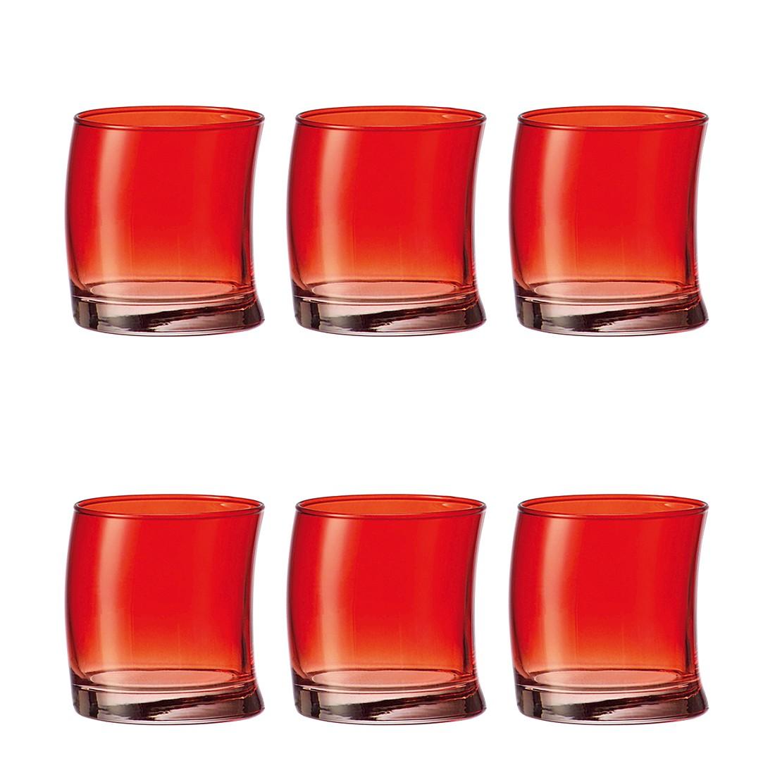 Becher Swing (6er-Set) – Klein – Rot, Leonardo günstig online kaufen