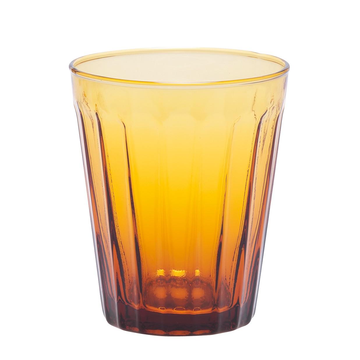 Trinkglas Lucca (6er-Set) – Glas – Bernstein, BITOSSI HOME günstig bestellen