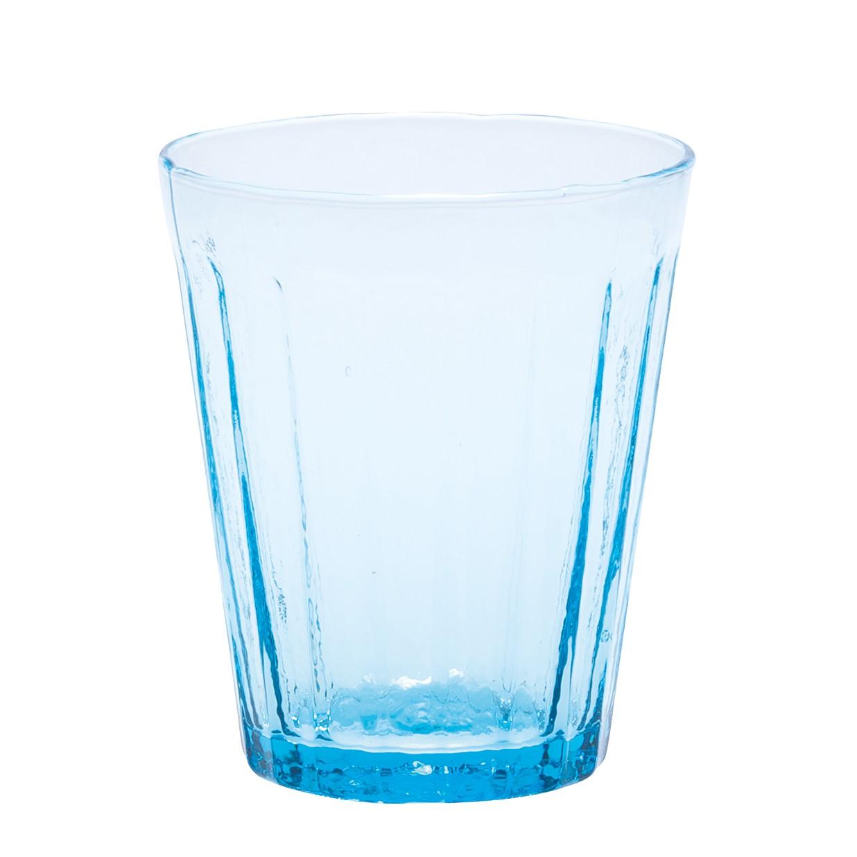 Trinkglas Lucca (6er-Set) – Glas – Hellblau, BITOSSI HOME günstig online kaufen