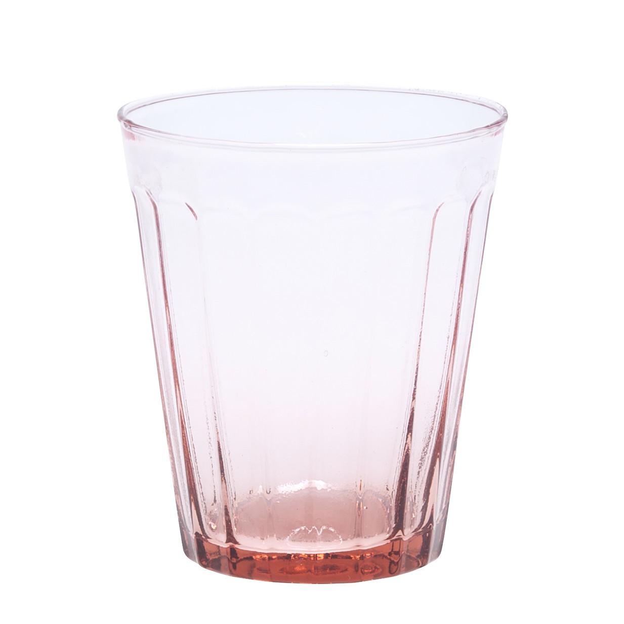 Trinkglas Lucca (6er-Set) – Glas – Pink, BITOSSI HOME kaufen