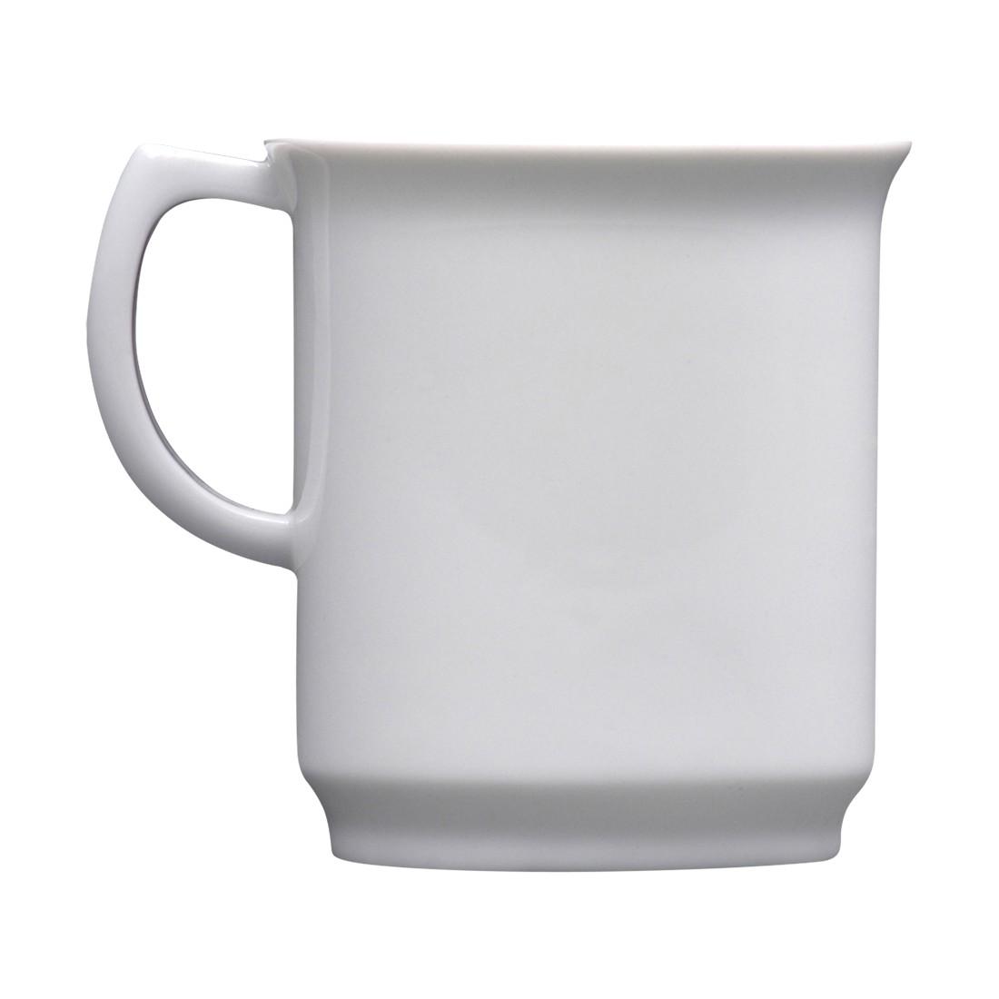 Becher Oskar Mug  4er-Set – Porzellan Weiß, Sowden jetzt bestellen