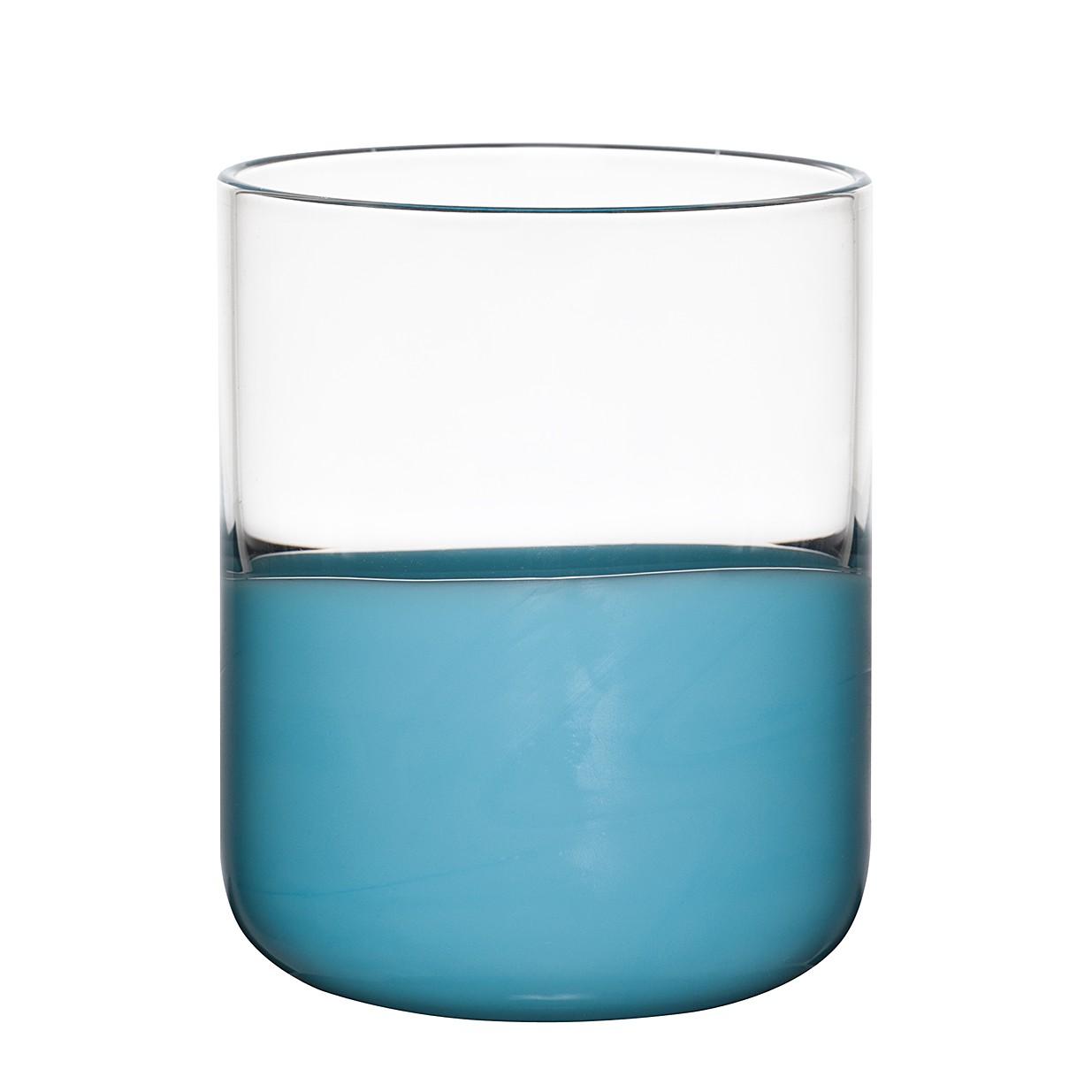 Trinkglas Spot (6er-Set) – Glas – Hellblau, BITOSSI HOME online kaufen