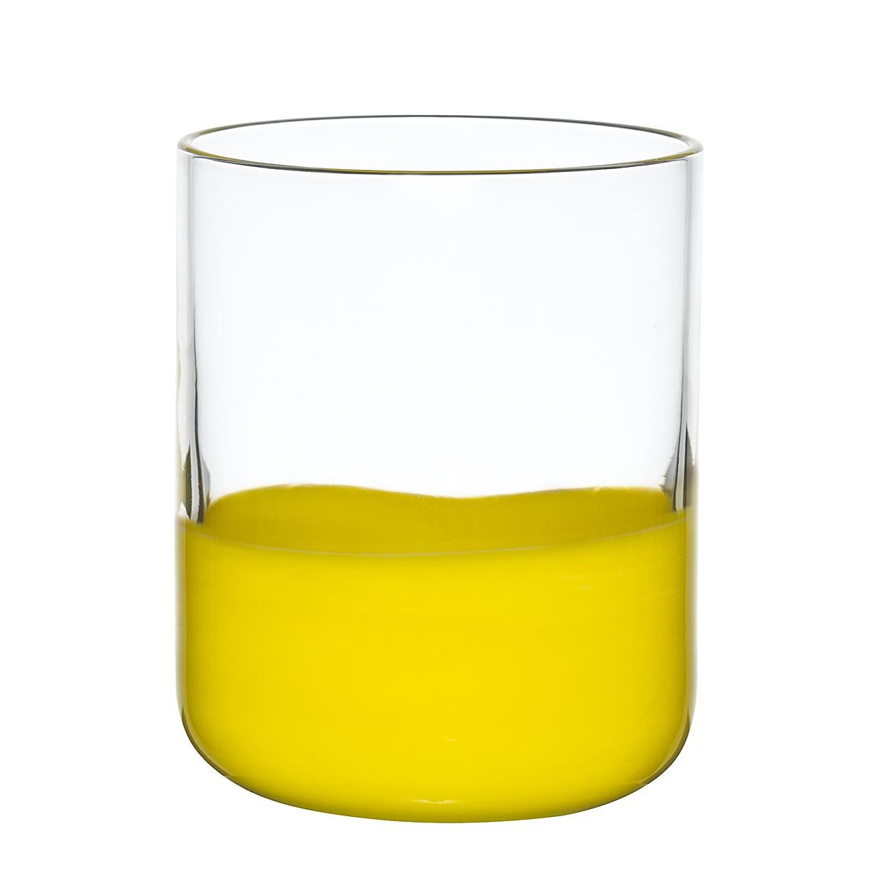 Trinkglas Spot (6er-Set) – Glas – Gelb, BITOSSI HOME günstig bestellen