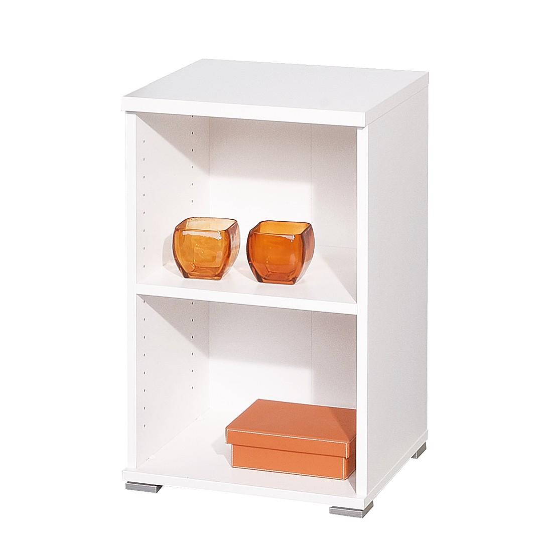 beistellregal rio art iii wei raumteiler b cherregal standregal wandregal ebay. Black Bedroom Furniture Sets. Home Design Ideas