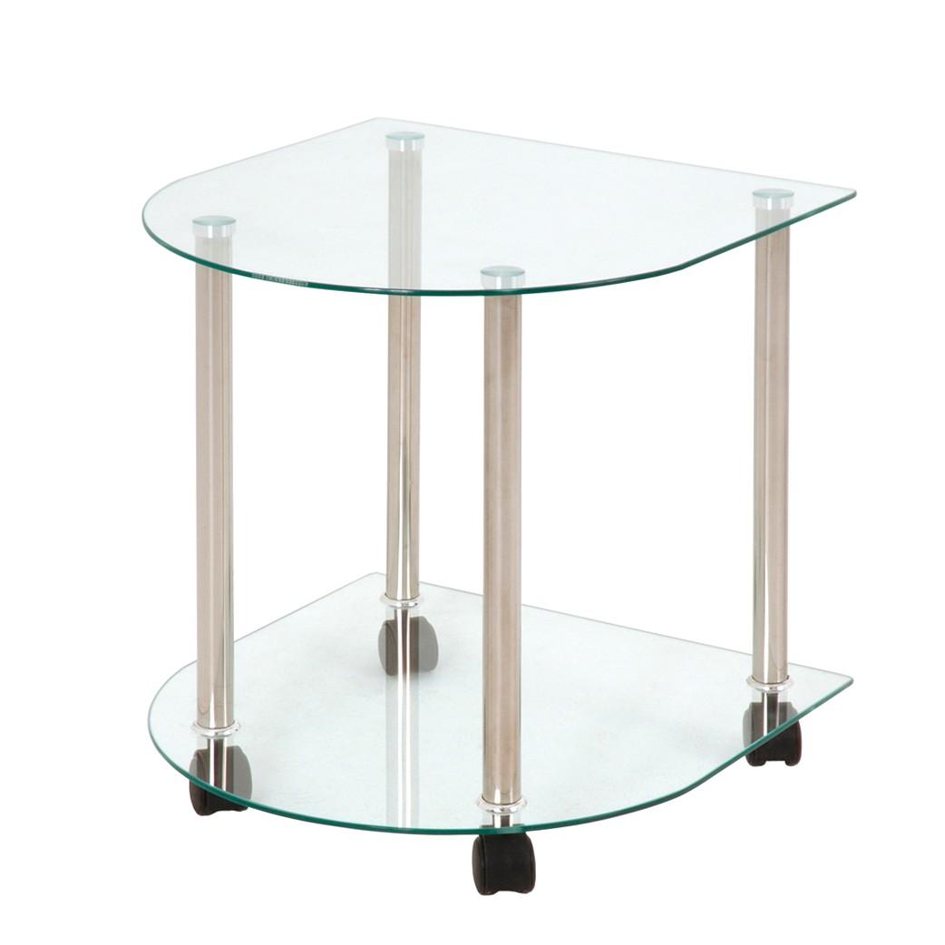 beistelltisch glas mit rollen sonstige preisvergleiche erfahrungsberichte und kauf bei nextag. Black Bedroom Furniture Sets. Home Design Ideas