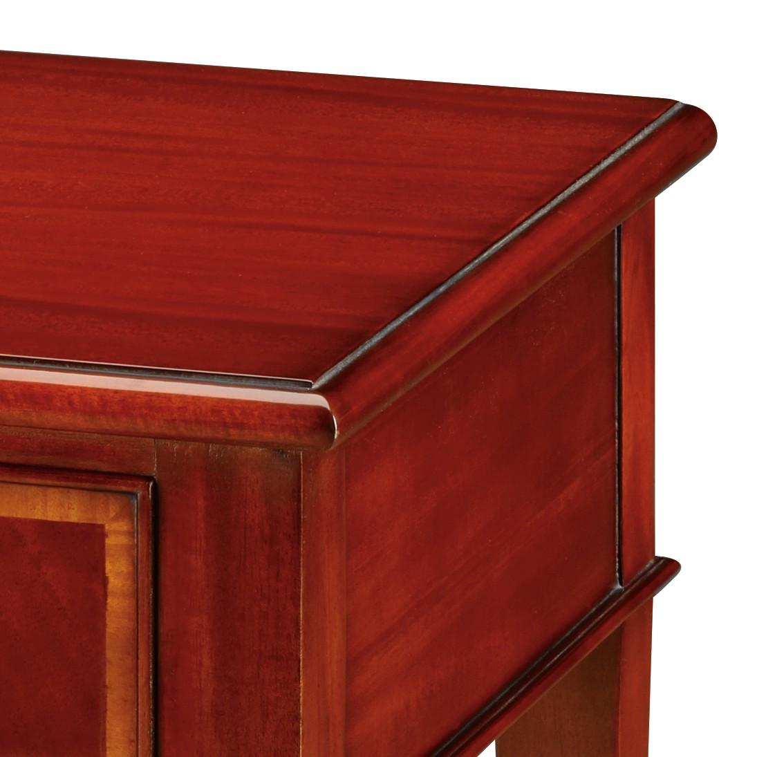 Beistelltisch Holz Mahagoni ~ Größe (b h t) 40 60 40 Farbe Braun Material Holz teilmassiv Style