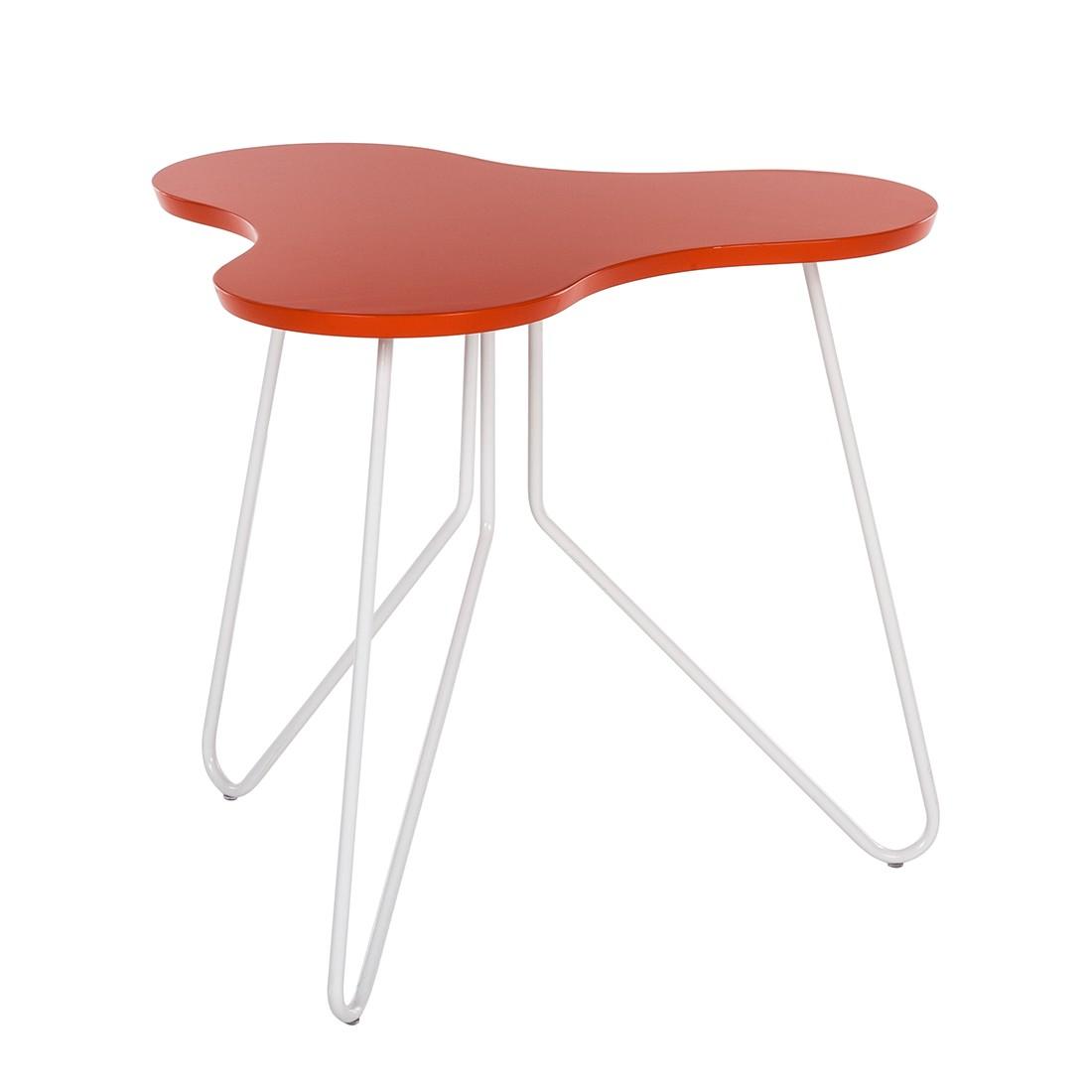 Beistelltisch fadi orange wei re concept g nstig kaufen for Beistelltisch orange
