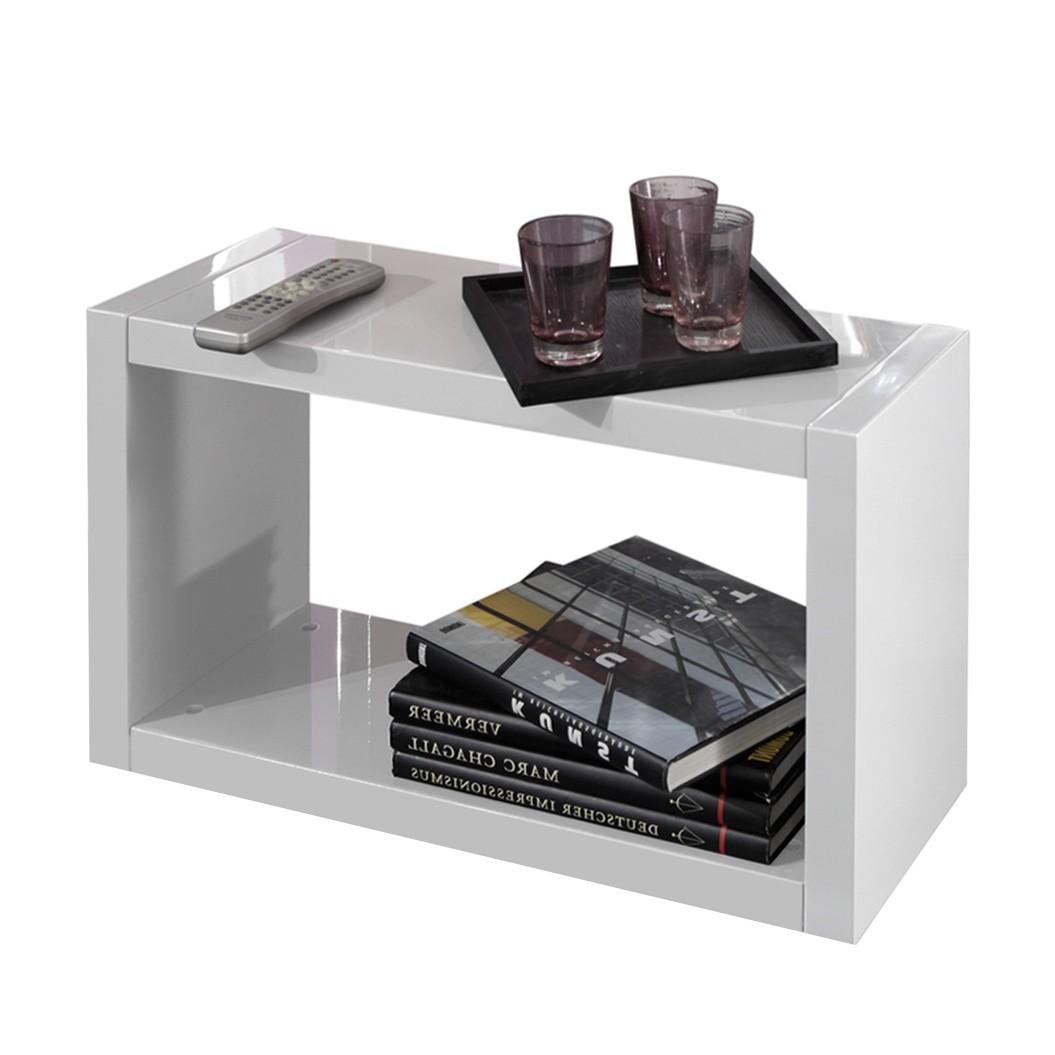 beistelltisch genua mdf hochglanz wei tollhaus jetzt kaufen. Black Bedroom Furniture Sets. Home Design Ideas