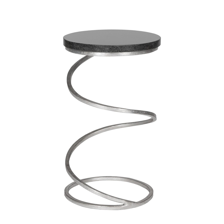 Safavieh beistelltisch eisen marmor silber schwarz tisch for Sofatisch marmor