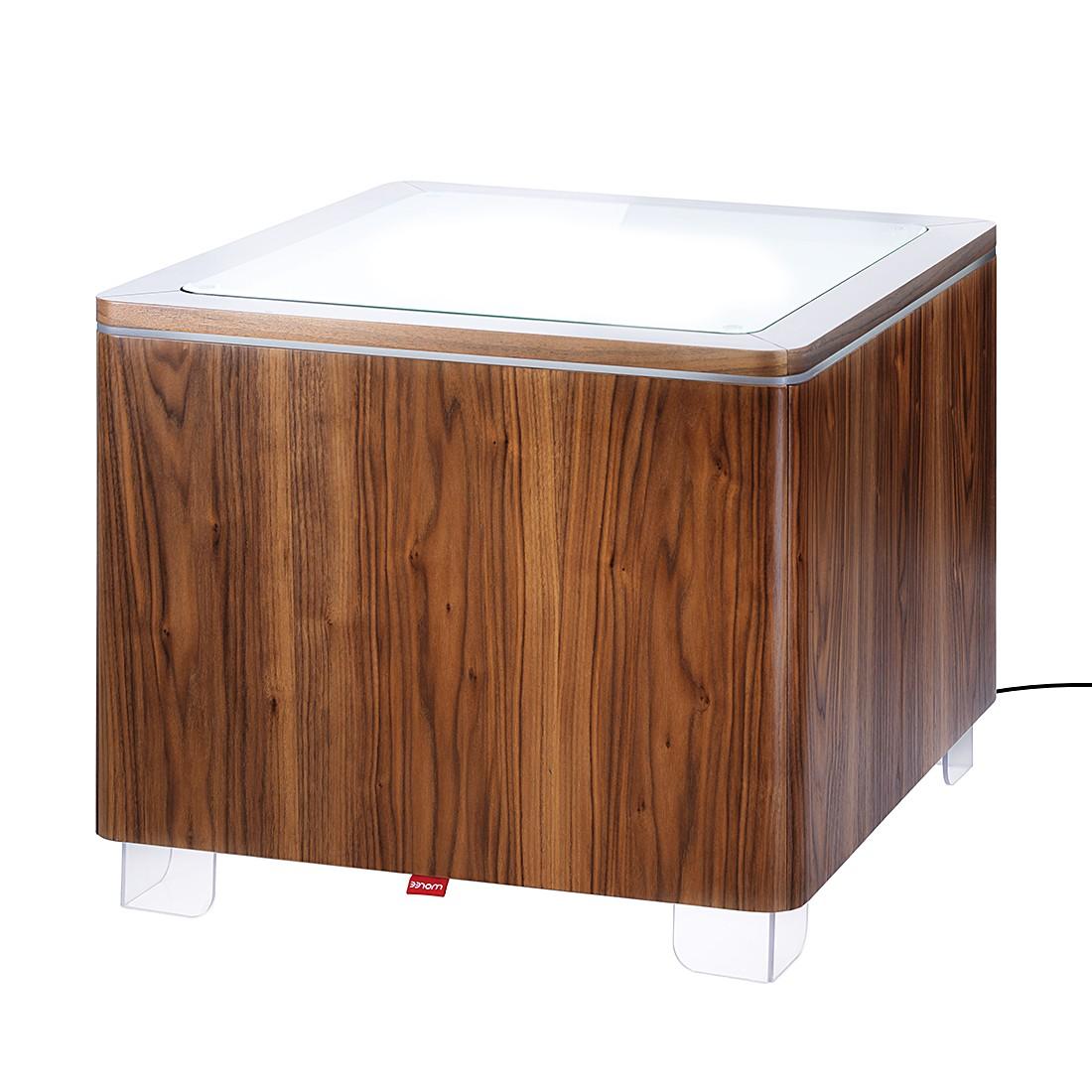 beistelltisch ora walnuss ohne beleuchtung moree kaufen. Black Bedroom Furniture Sets. Home Design Ideas