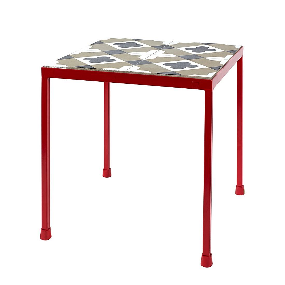 beistelltisch pure beton schwarz wei rot serax g nstig kaufen. Black Bedroom Furniture Sets. Home Design Ideas