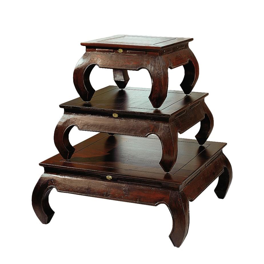 beistelltisch rokoko akazie massiv antik finish 003. Black Bedroom Furniture Sets. Home Design Ideas