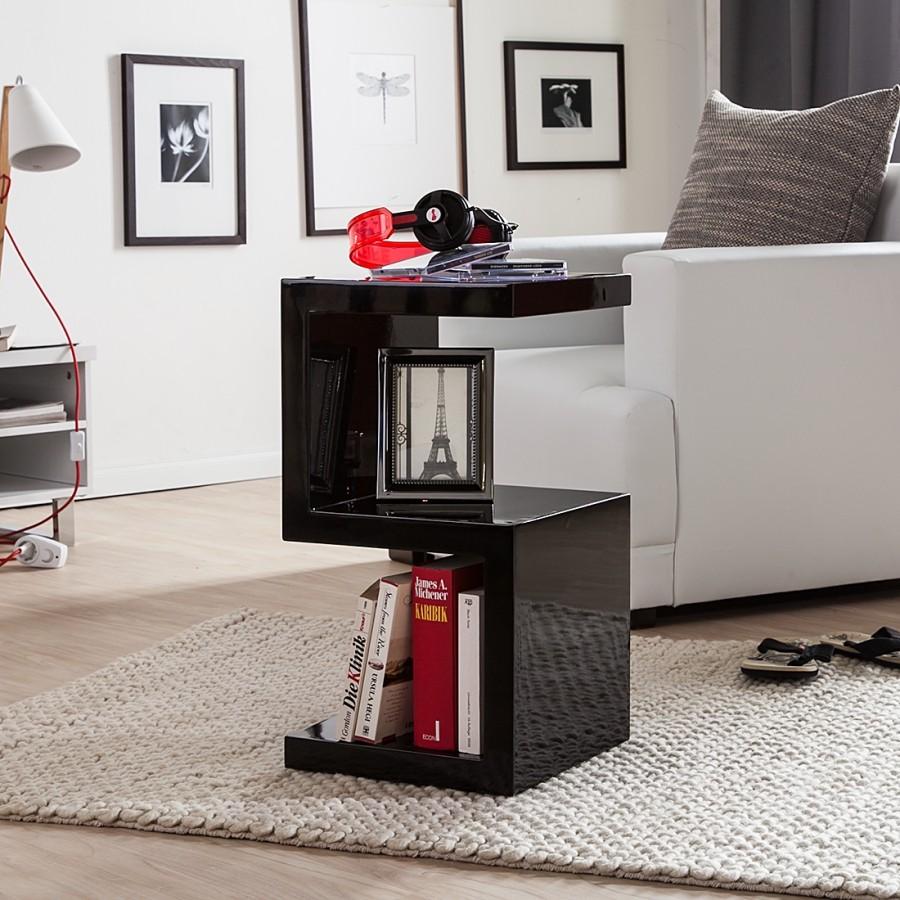 beistelltisch snake schwarz wohnzimmertisch sofatisch nachttisch couchtisch ebay. Black Bedroom Furniture Sets. Home Design Ideas