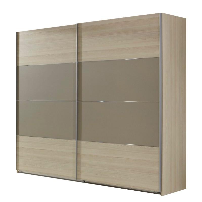 schwebet renschrank belfort strukturesche sandgrau. Black Bedroom Furniture Sets. Home Design Ideas
