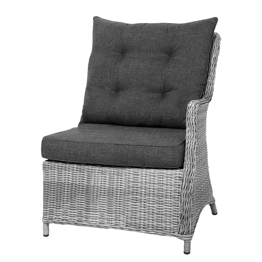 gartensofa barcelona ii polyrattan grau best. Black Bedroom Furniture Sets. Home Design Ideas