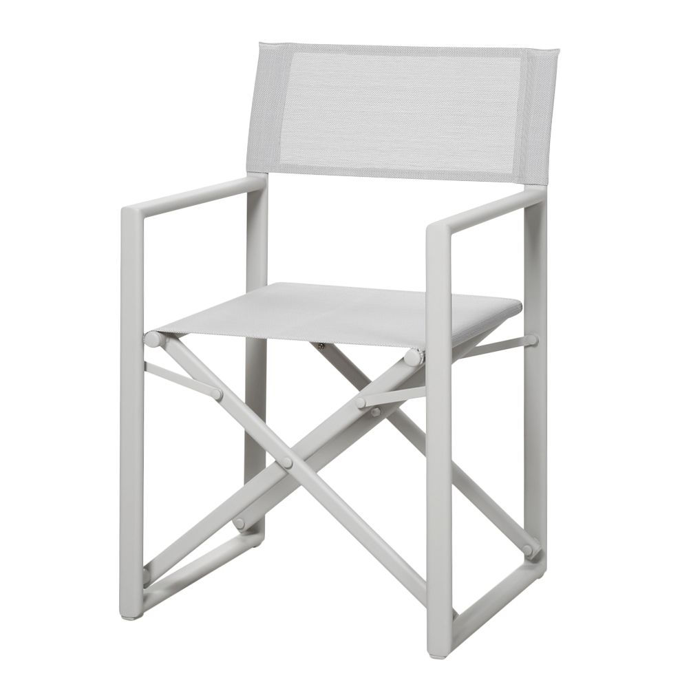 Gartenstuhl Messina - Aluminium/Ergotex - Creme, Best Freizeitmöbel
