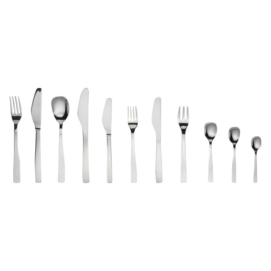Besteckgarnitur KnifeForkSpoon(75-teilig) – mattiert/Zylinderblock, Alessi günstig