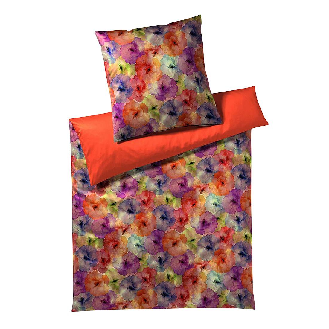 Bettwäsche Bella Mohn-Rot – Baumwolle – Mehrfarbig – 135X200 cm + 80X80 cm, Yes for bed bestellen