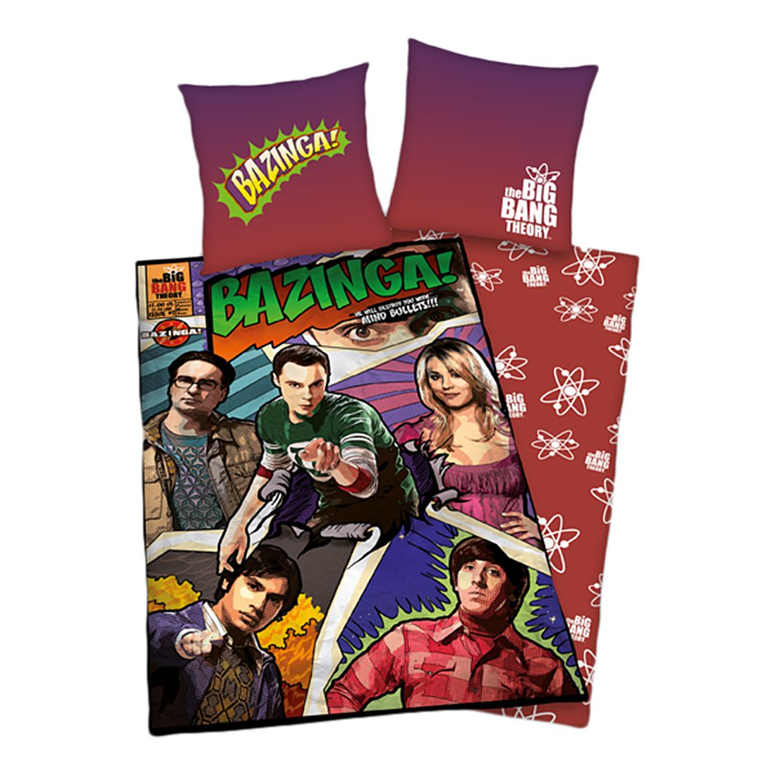 Bettwäsche Big Bang Theory, Herding günstig online kaufen