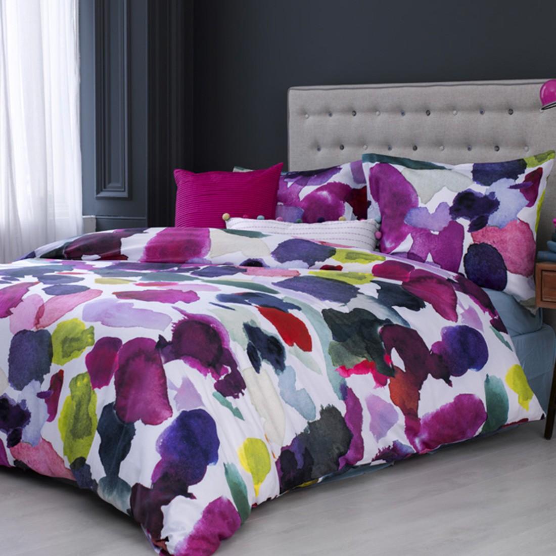 Bettwäsche BlueBellGray Abstract – Mehrfarbig – Baumwolle – Abmessungen 200x135x38cm, BH jetzt bestellen