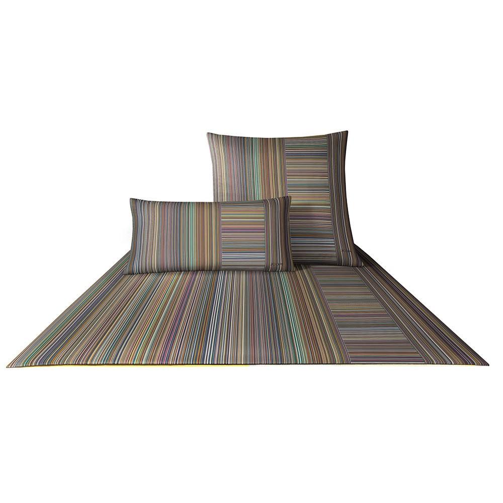 Bettwäsche Fine Stripes spektral – Baumwolle – Mehrfarbig – 135×200 cm + 80×80 cm, Joop günstig