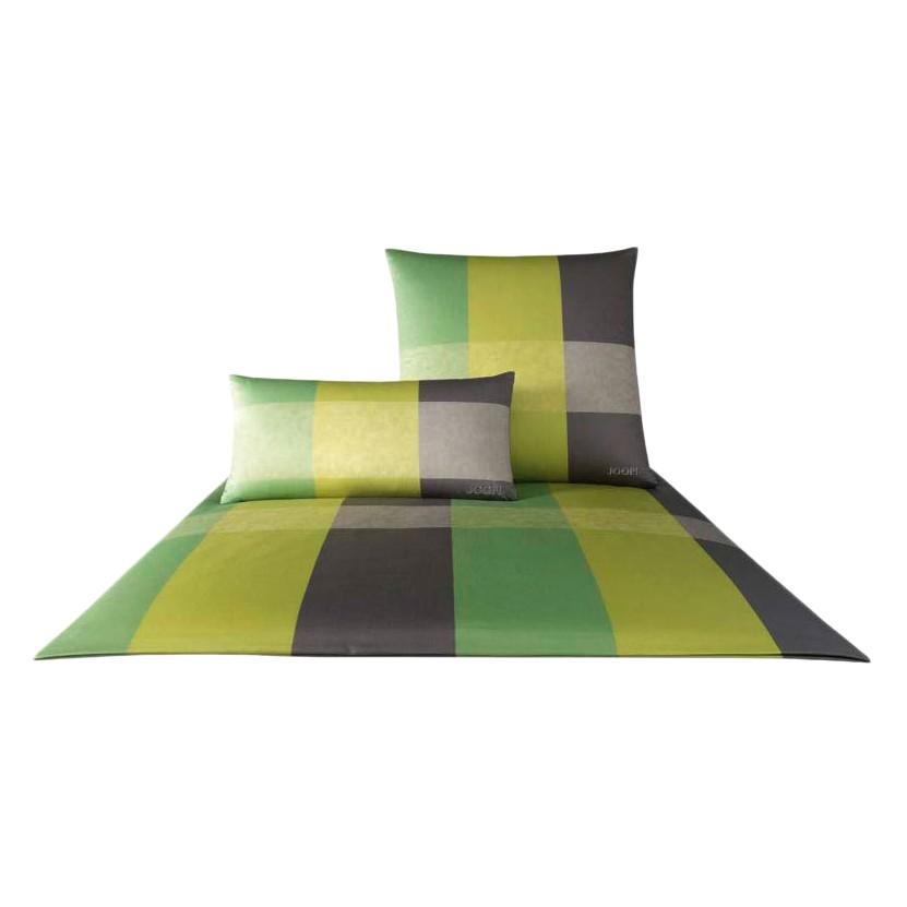 Bettwäsche Lucent Stripes Lindgrün 4036-04 – 100% Baumwolle – Mehrfarbig – 155 x 220 cm, Joop kaufen