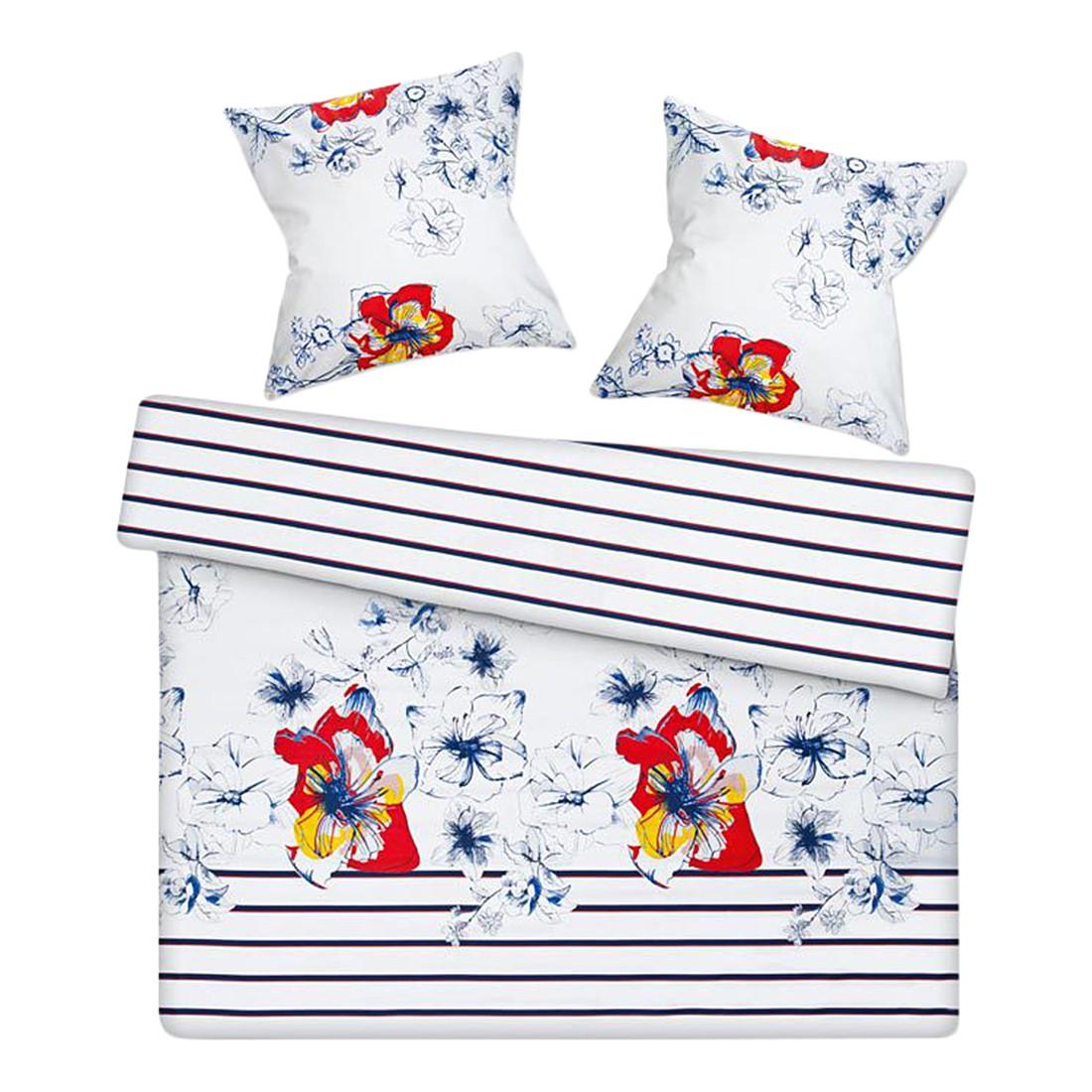 Bettwäsche – Luxury – Mako-Satin/Baumwolle – Mehrfarbig – 135×200 cm + 80×80 cm, Esprit jetzt kaufen