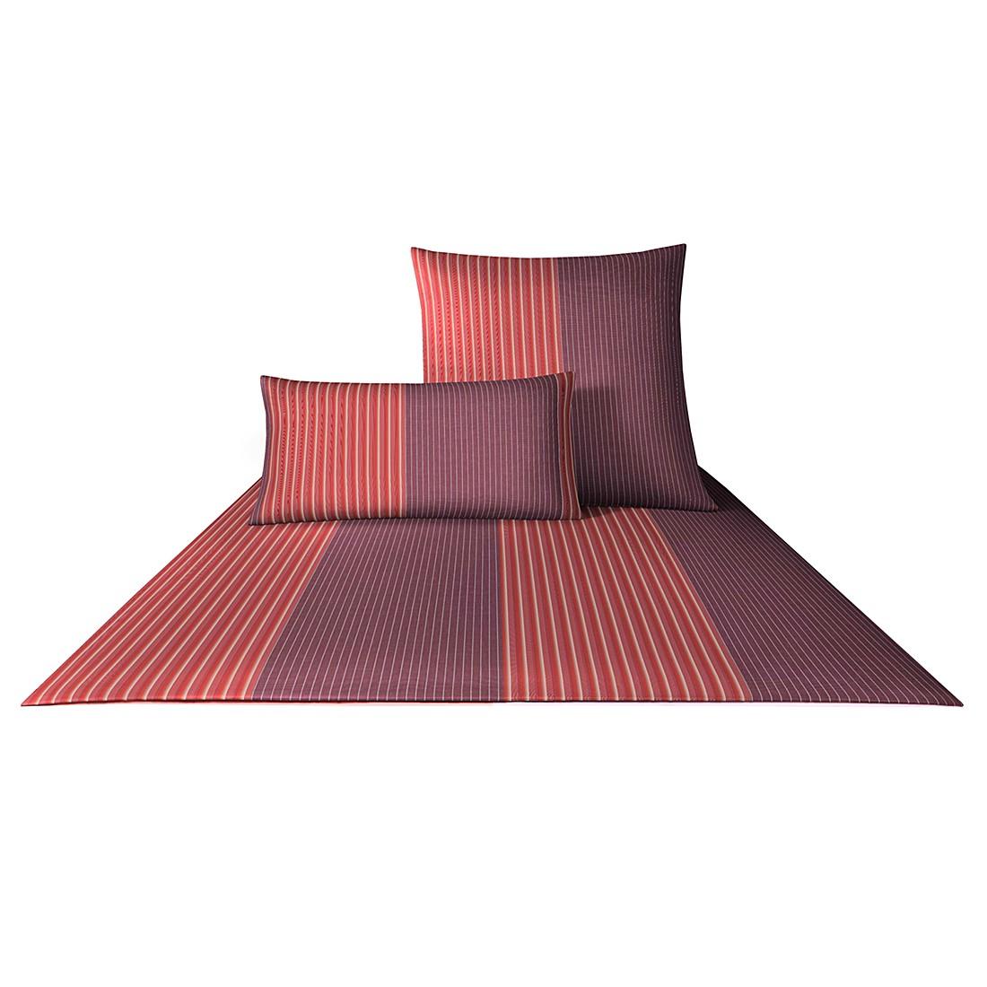 Bettwäsche Mako-Satin Double Stripes 4054 – Baumwolle – Grenadine – Kissen 40×80 cm, Joop online bestellen