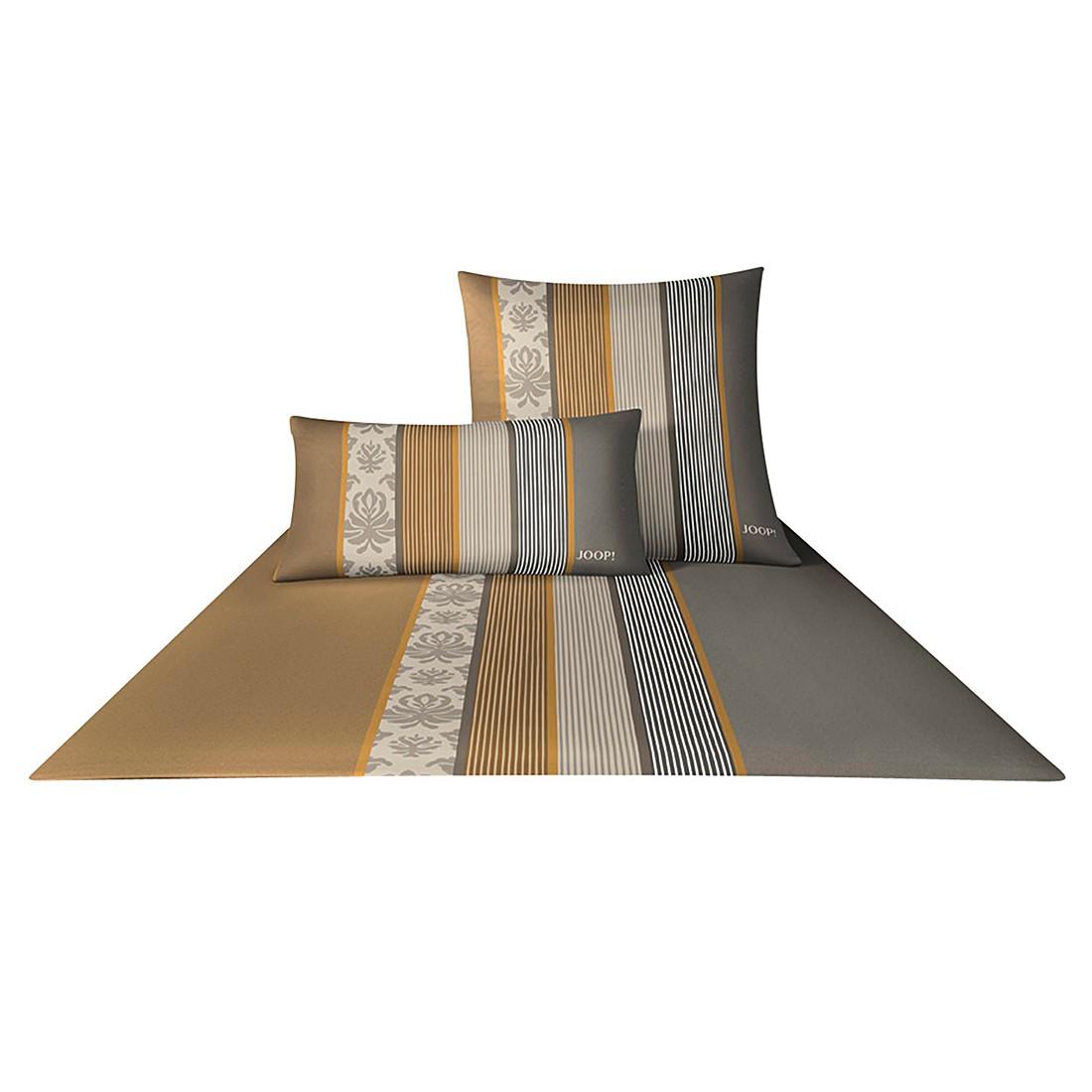 Bettwäsche Mako-Satin Ornament Stripe 4022 – Baumwolle – Muskat – 80×80 cm – 155×220 cm, Joop günstig bestellen