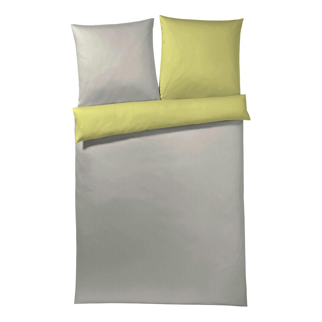 Bettwäsche Mako-Satin Plaza Plain Honan 4050 – Baumwolle – Limone – 80×80 cm – 135×200 cm, Joop kaufen