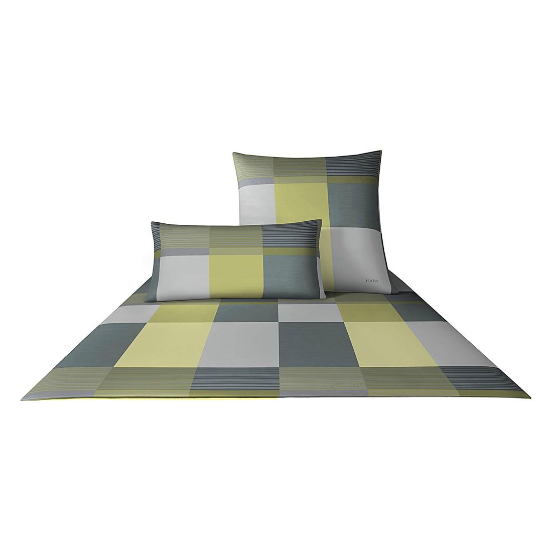 Bettwaesche Mako-Satin Plaza Squares – 100% Baumwolle Limone – 04 – 80 x 80 cm – 155 x 220 cm, Joop günstig bestellen