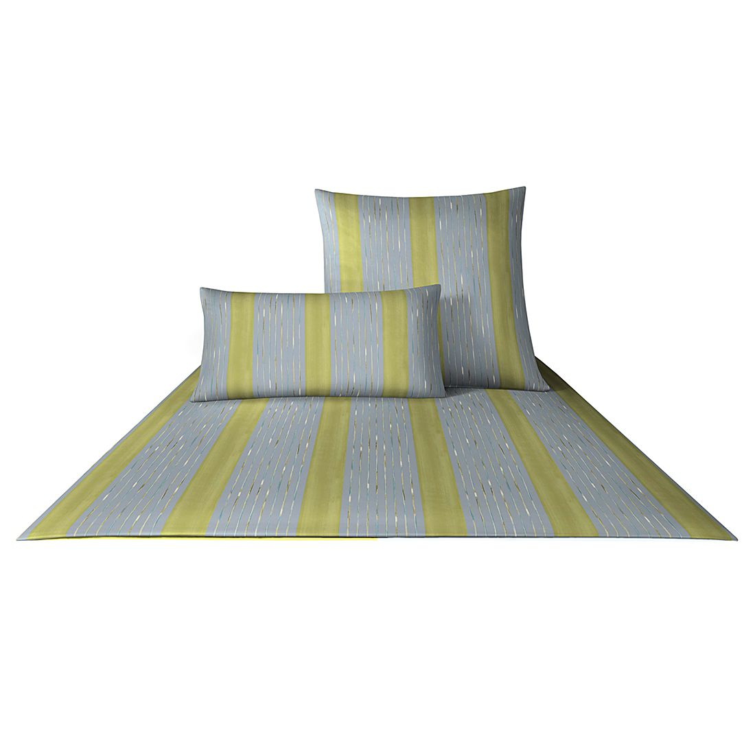 bettw sche mako satin plaza stripes 4052 baumwolle. Black Bedroom Furniture Sets. Home Design Ideas