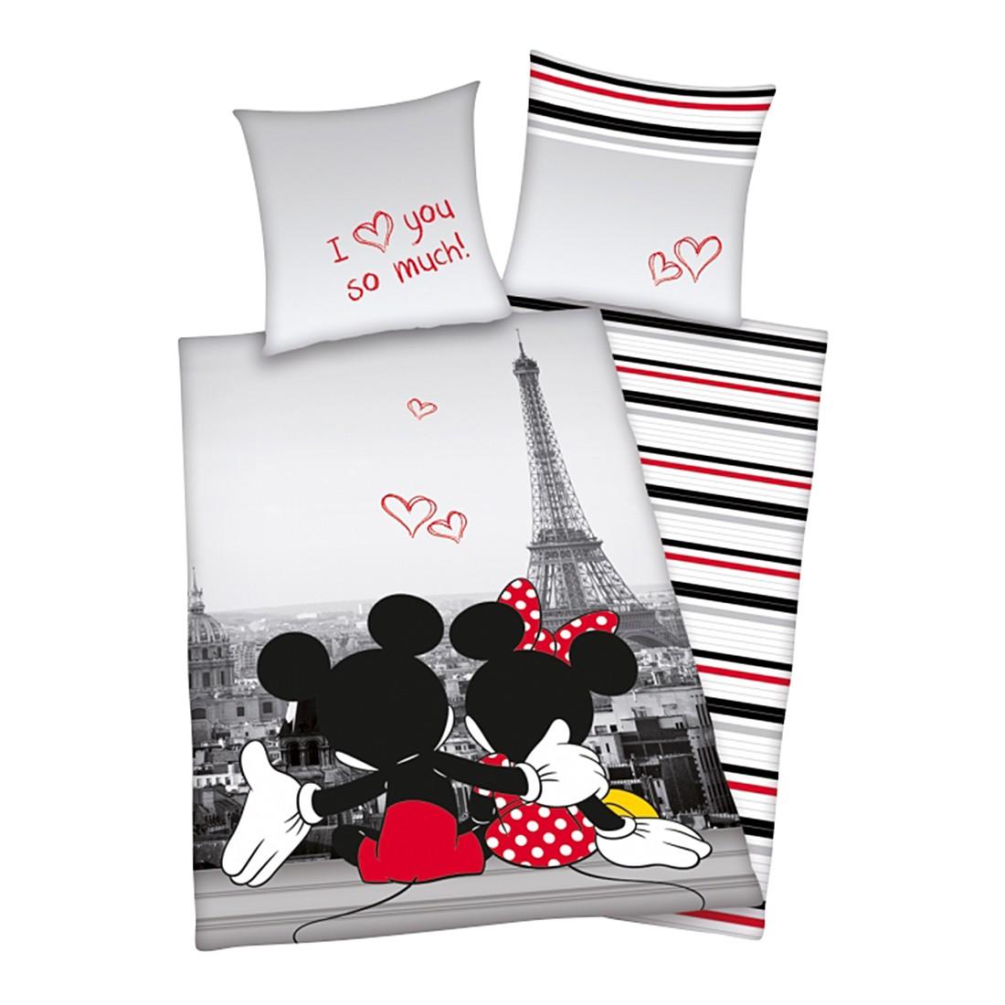 Bettwäsche Mickey und Minnie in Paris, Herding jetzt kaufen